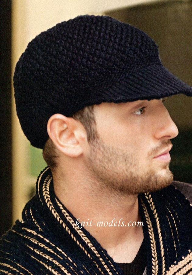 Кроме того, в соответствии с современными модными тенденциями, мужские вязаные шапки можно носить не только