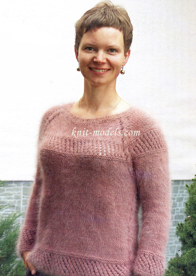 Мужской свитер с косами схема фото 931